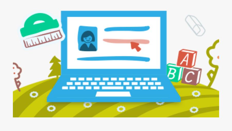 Online Elementary School Decide - Online School, Transparent Clipart