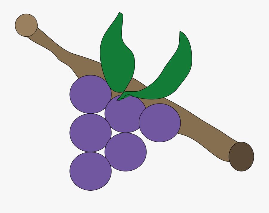 Plant,grape,grapevine Family - Buah Anggur Animasi, Transparent Clipart