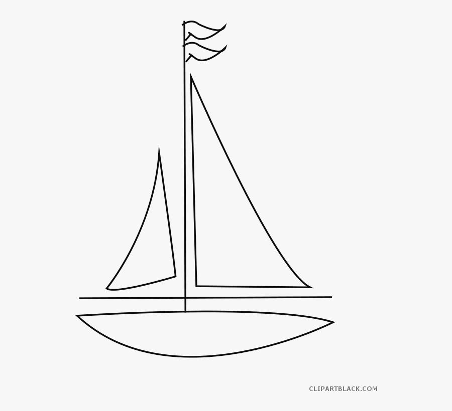 Clip Art Banner Library Huge - Sail, Transparent Clipart