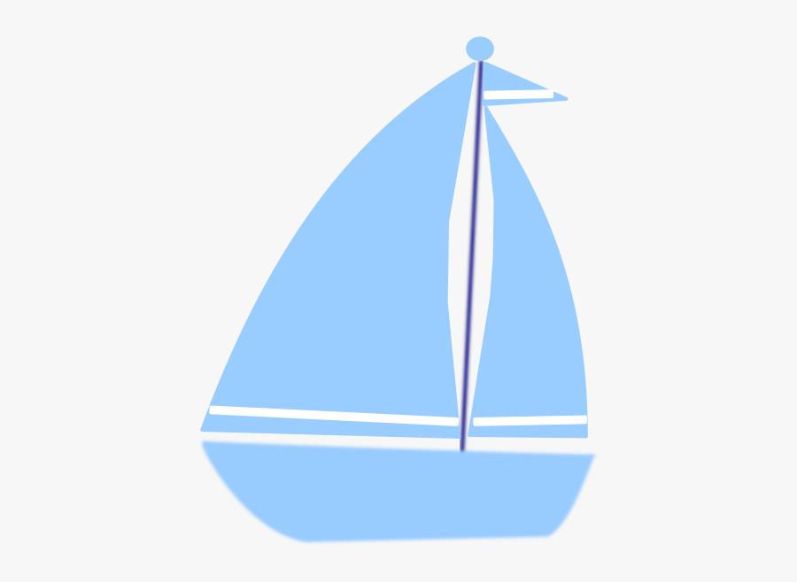 Boats Clipart Blue - Blue Boat Clipart, Transparent Clipart