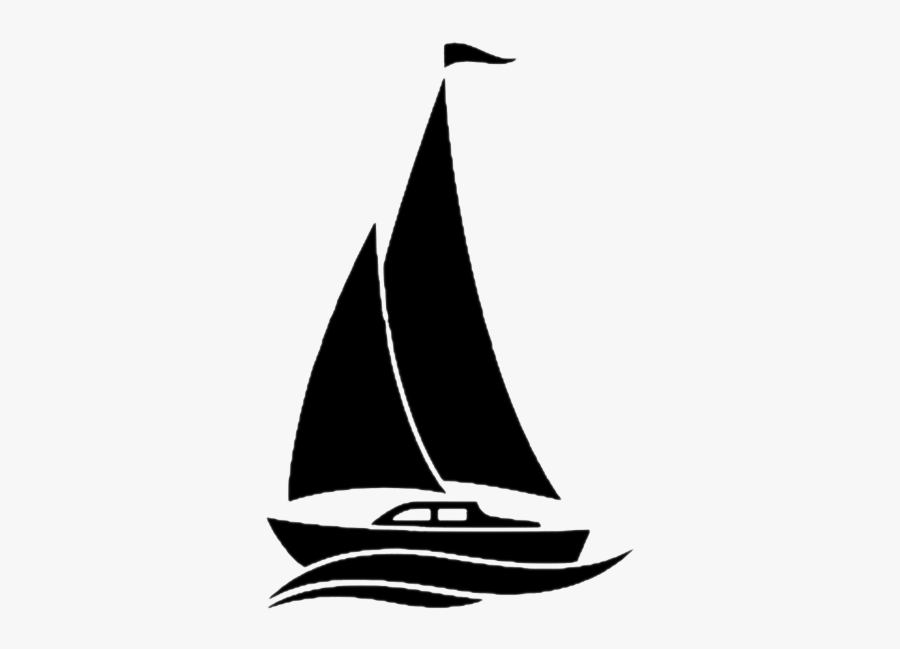 Vector Graphics Royalty-free Stock Photography Illustration - Simple Boat Silhouette Vector, Transparent Clipart