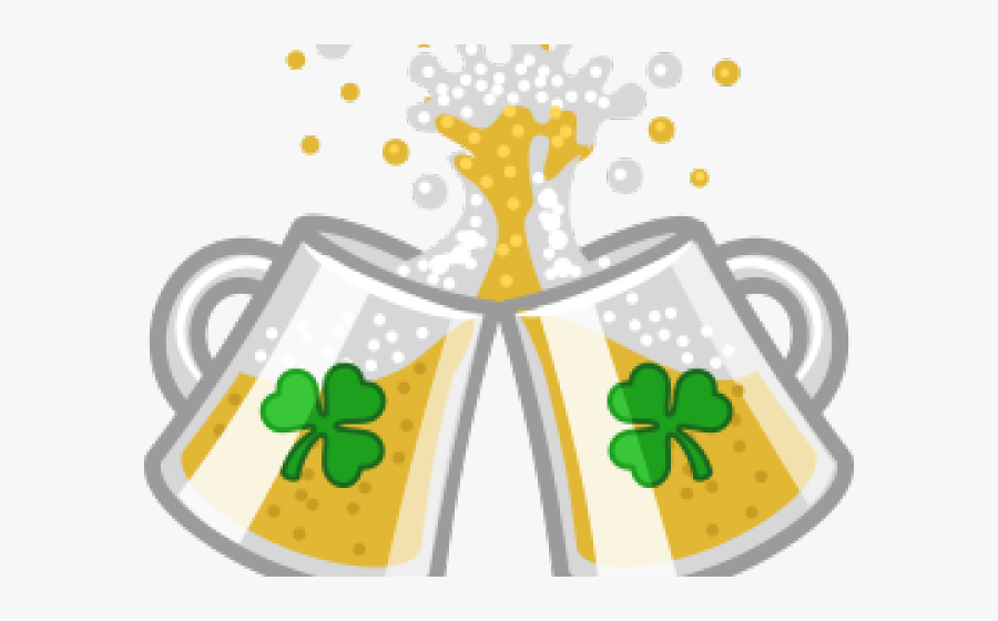 Ireland Clipart Transparent - St Patricks Day Beer Cheers, Transparent Clipart