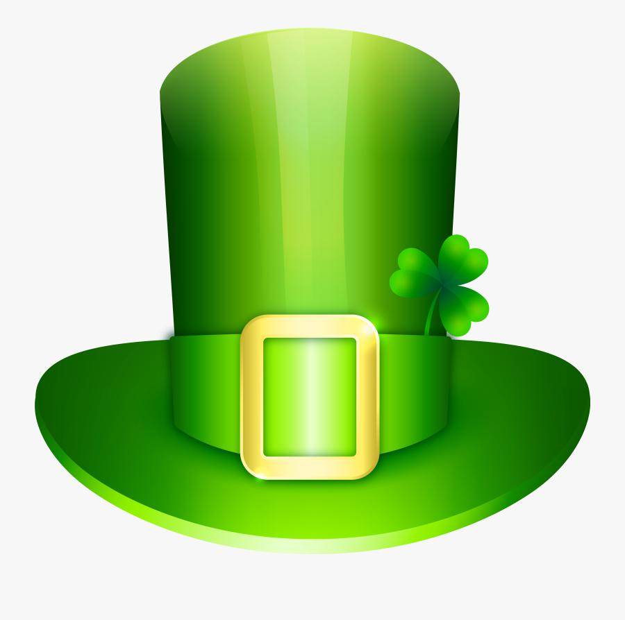 Irish Leprechaun Hat - Clip Art Leprechaun Hats, Transparent Clipart