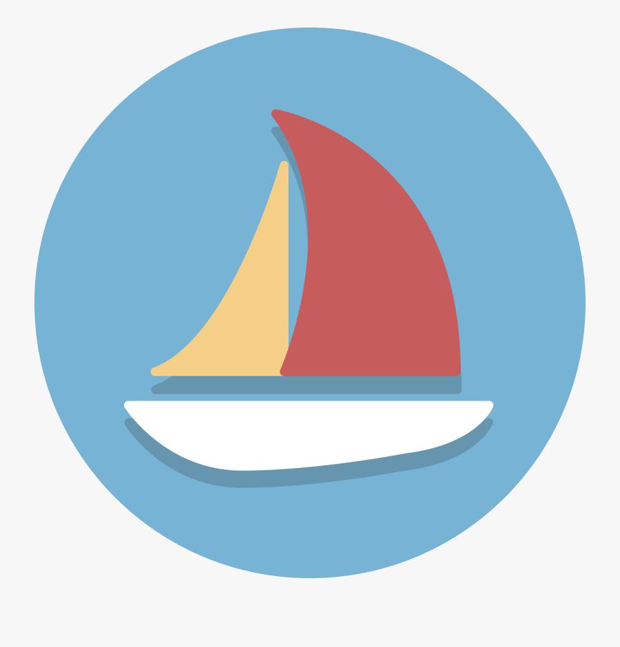 Boat Ico, Transparent Clipart