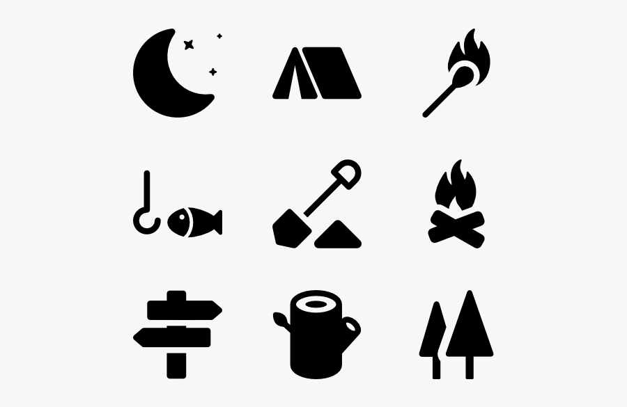 Clip Art Hiking Graphic - Trekking Png Icon, Transparent Clipart