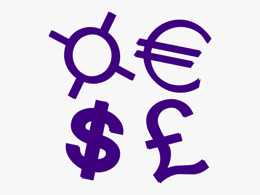 Currency Symbols, Transparent Clipart