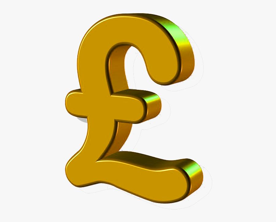 Gold Pound Sign Transparent Image - Pound Sign No Background, Transparent Clipart