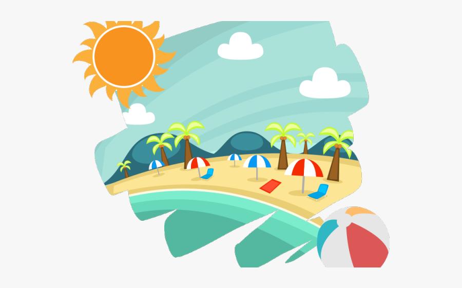 Summer Clipart Accessory - Summer Season Cartoon Png, Transparent Clipart
