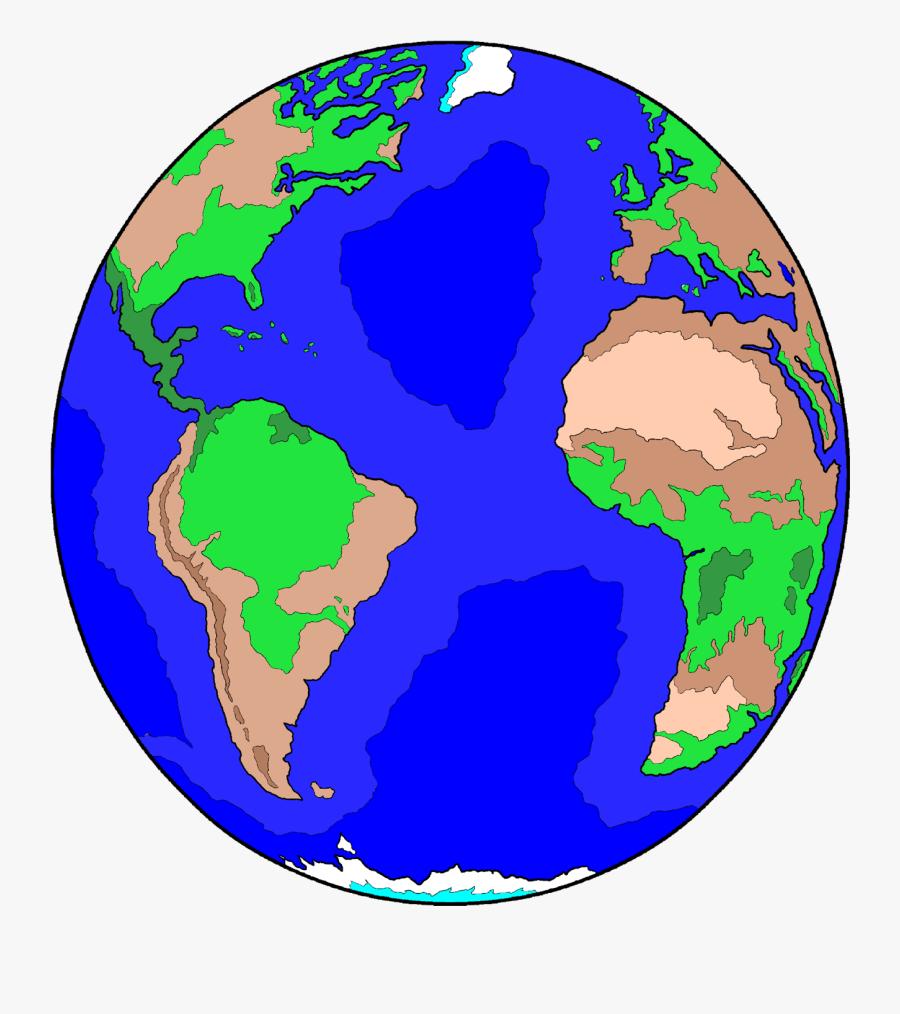Planet Clipart Universe - Earth, Transparent Clipart