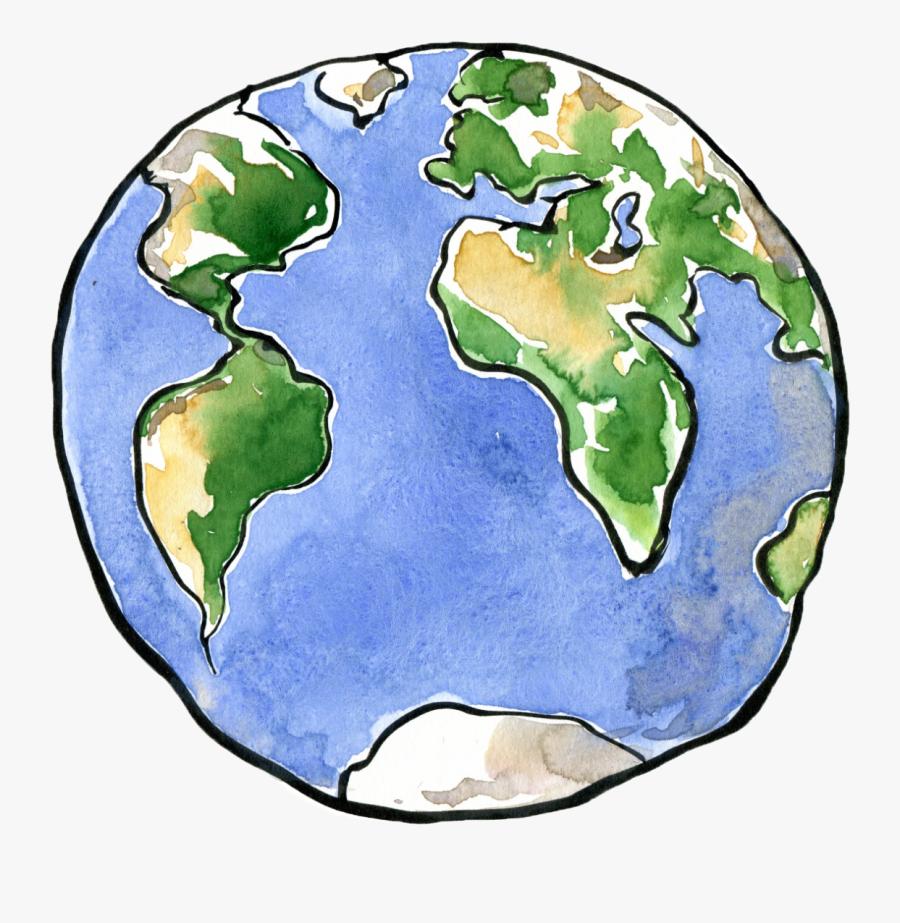 Earth Drawing Planet Clip Art - Greta Thunberg Sticker, Transparent Clipart