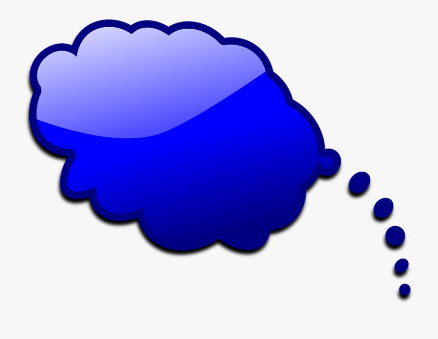 Talk Bubble Small Clipart 300pixel Size, Free Design - Sky Blue Speech Bubble Transparent, Transparent Clipart