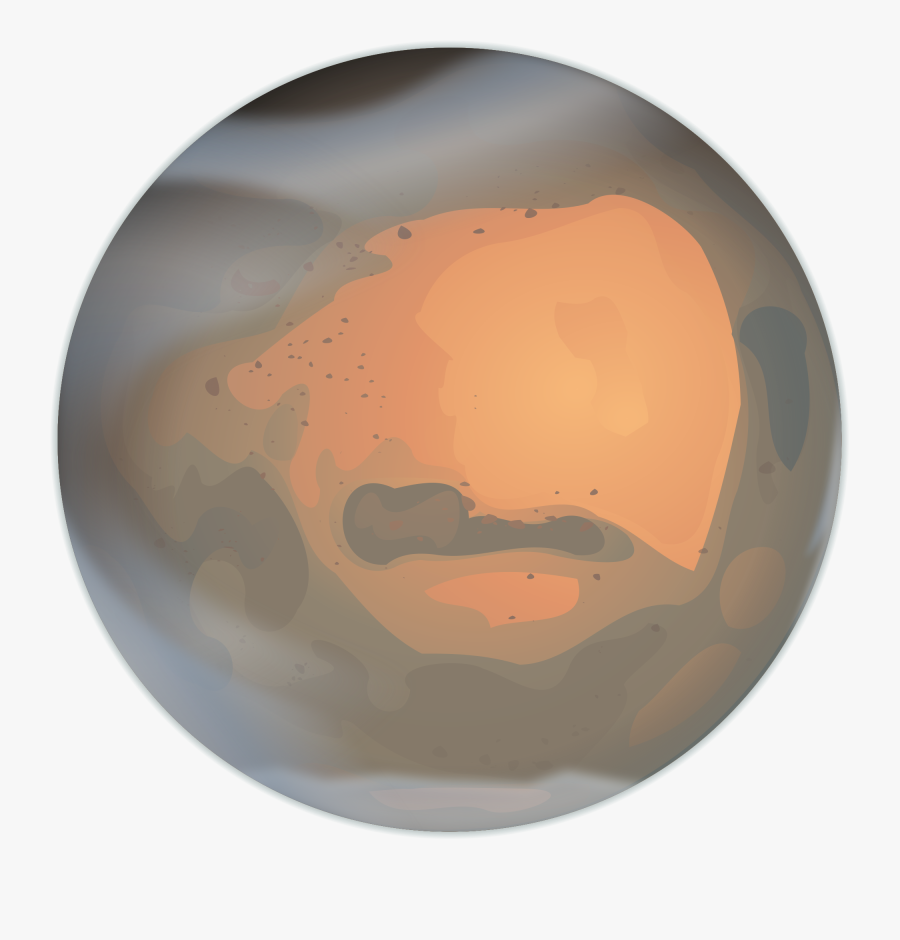 Public Domain Clip Art Image - Mars Icon Png Wiki Commons, Transparent Clipart