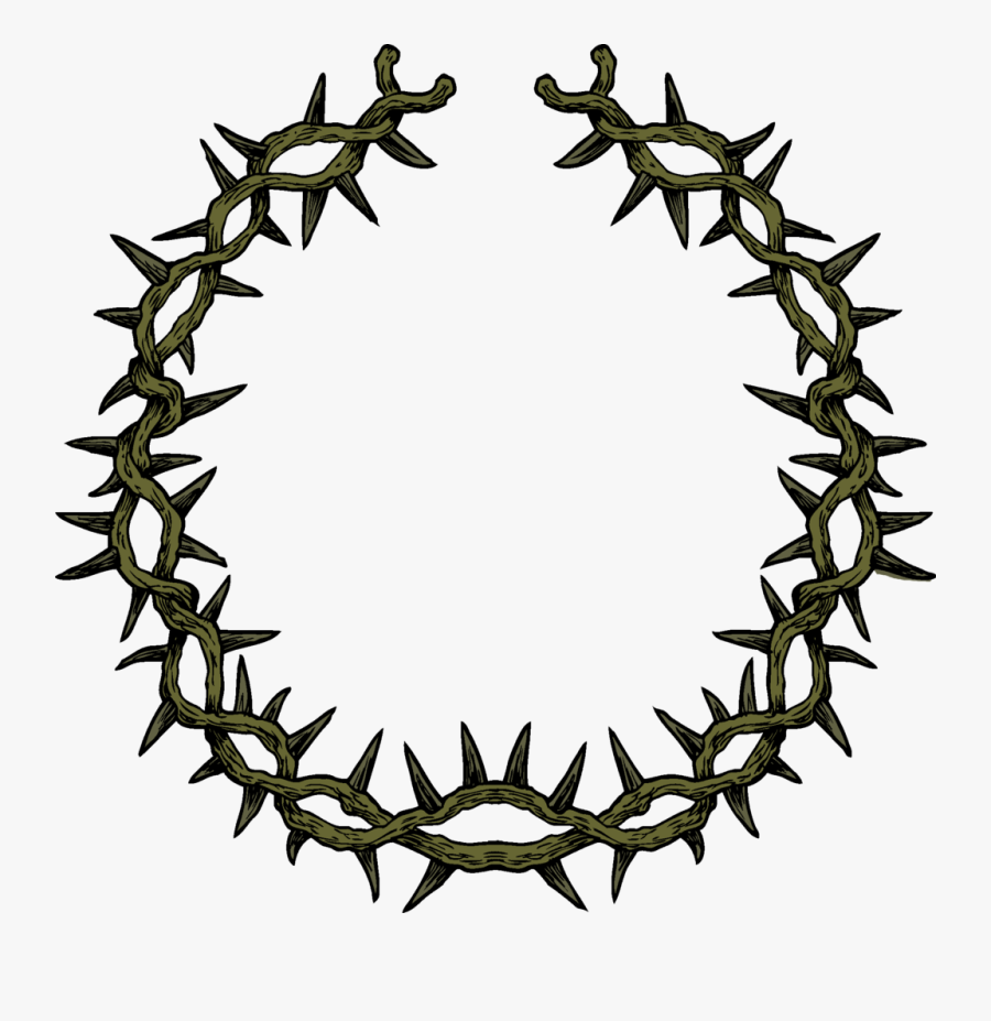Crown Of Thorns Png, Transparent Clipart