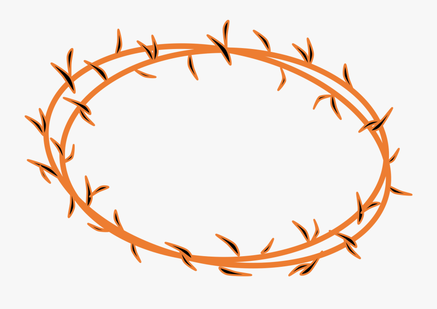 Clip Art Free Thorn Cliparts Download - Transparent Png Crown Of Thorn, Transparent Clipart