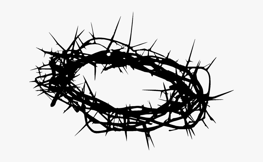 Crown Of Thorns Clip Art Image Christian Cross Prince - Crown Of Thorns Png, Transparent Clipart