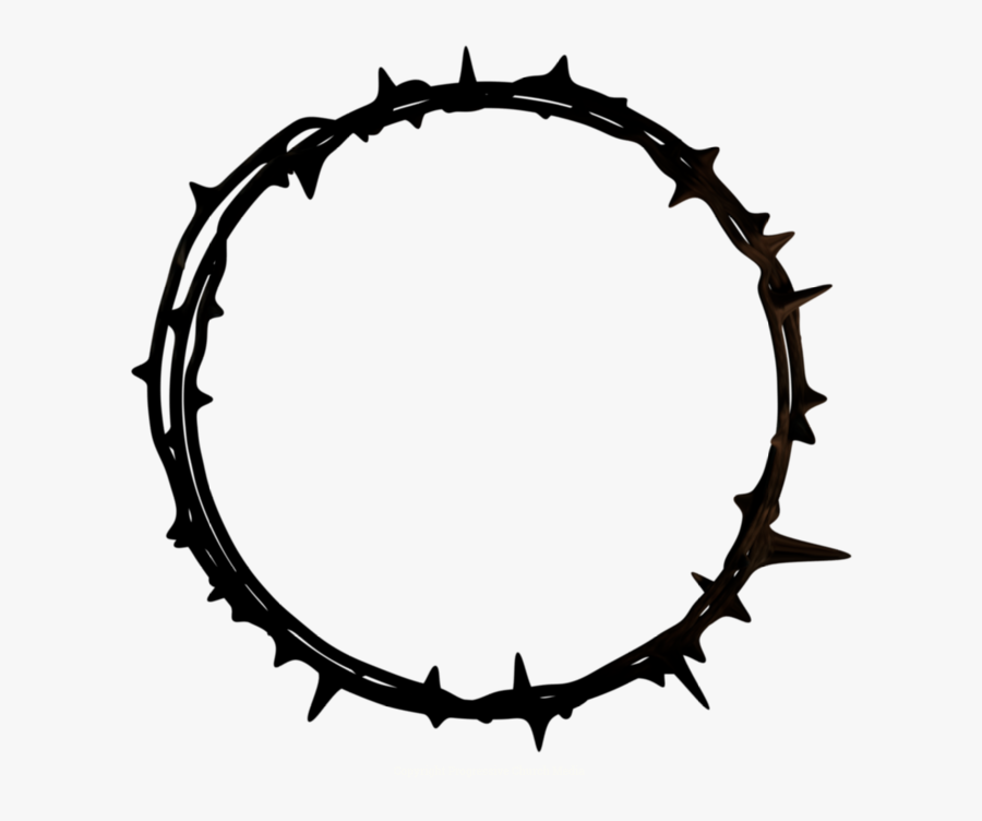 Crown Of Thorns Good Friday Graphics - Crown Of Thorns Png Transparent, Transparent Clipart