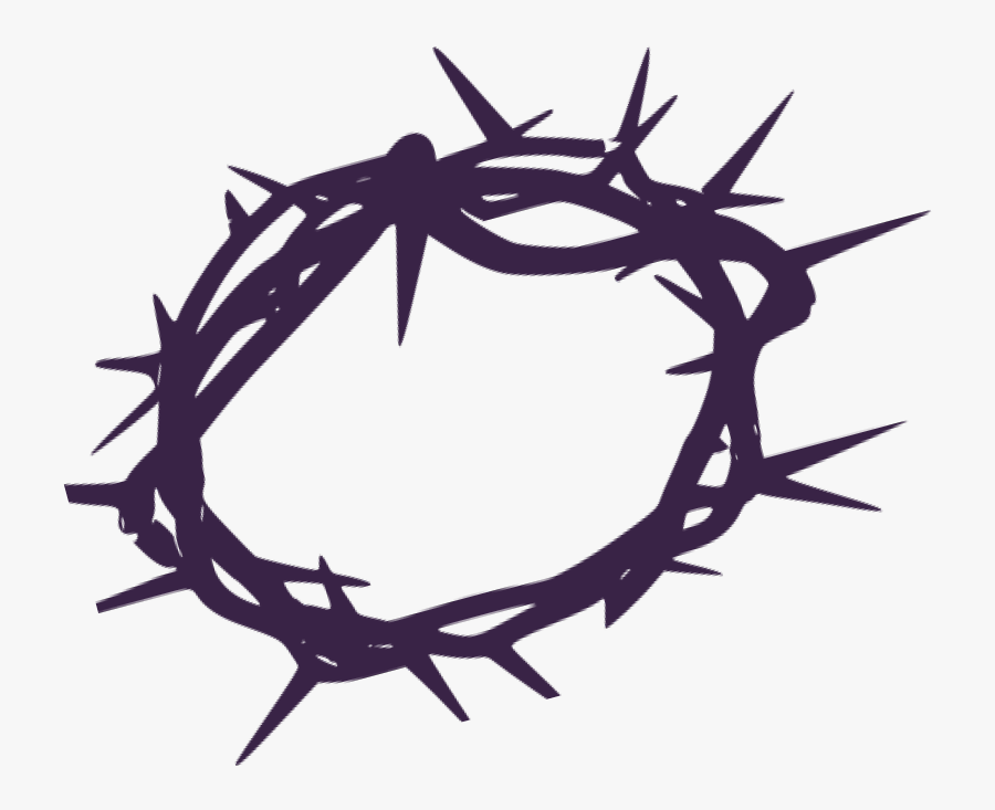 Crown Of Thorns Svg, Transparent Clipart