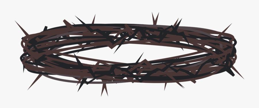 Graphic,lent,holy Week,crown Of Thorns,jesus,good Friday, - Coroa De Espinhos Png, Transparent Clipart