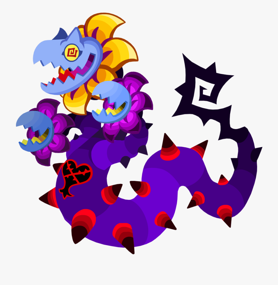 - Kingdom Hearts Heartless Boss Clipart , Png Download - Kingdom Hearts Union X Cross Heartless, Transparent Clipart