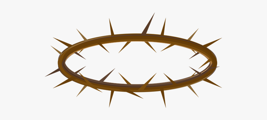 Lent, Crown, Thorns, Easter, Cross, Holy, Passion - Crown Of Thorns Clear Background, Transparent Clipart