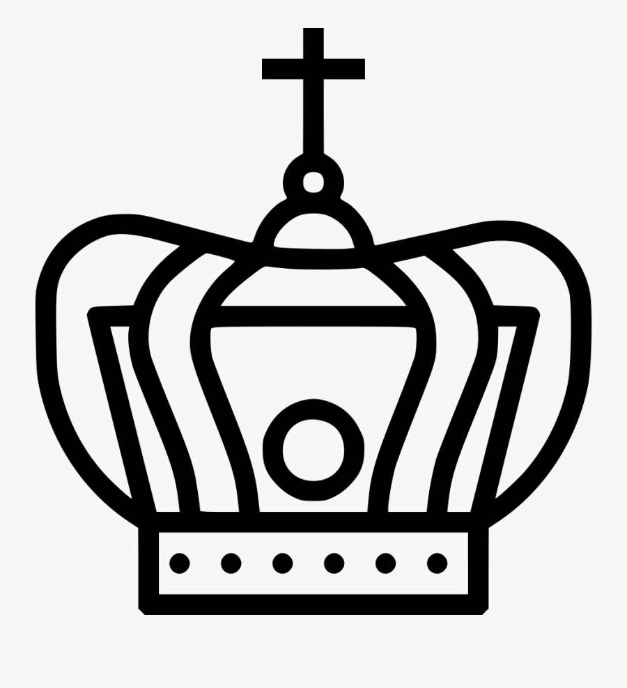 Vector Royalty Free Christ Holy King God Png Icon Free - Jesus Crown Transparent Png, Transparent Clipart