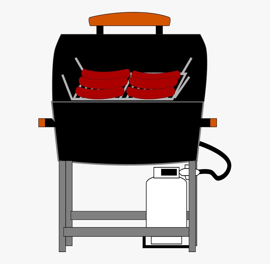 Machine,chair,line - Grilling, Transparent Clipart