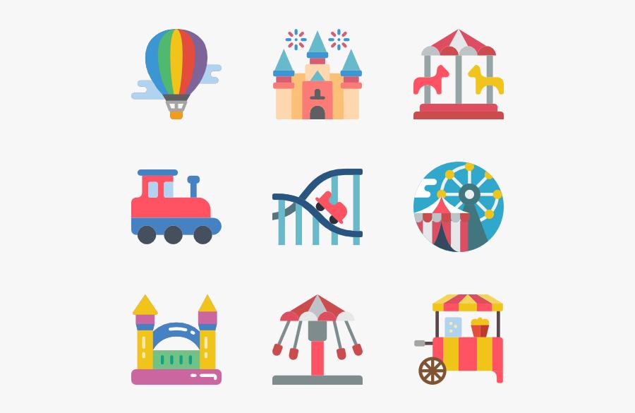 Theme Park Png File - Theme Park Icon Png, Transparent Clipart