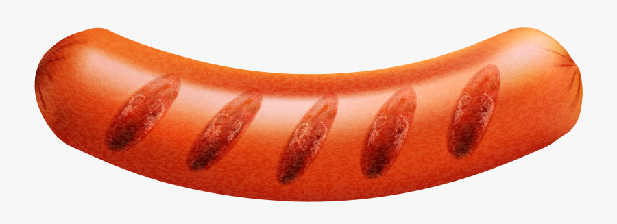 Grilling Clipart Bbq Sausage - Grilled Hot Dog Clipart, Transparent Clipart