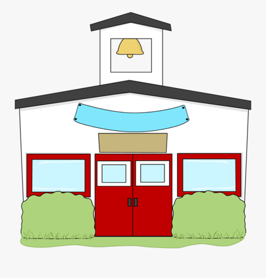 School House Clip Art Money Clipart Hatenylo - Transparent Background School Transparent Clipart, Transparent Clipart