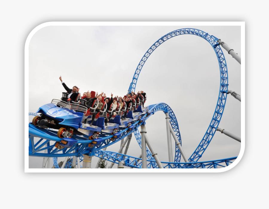 Rollercoaster Video Zoom - Bana Hills Amusement Park, Transparent Clipart