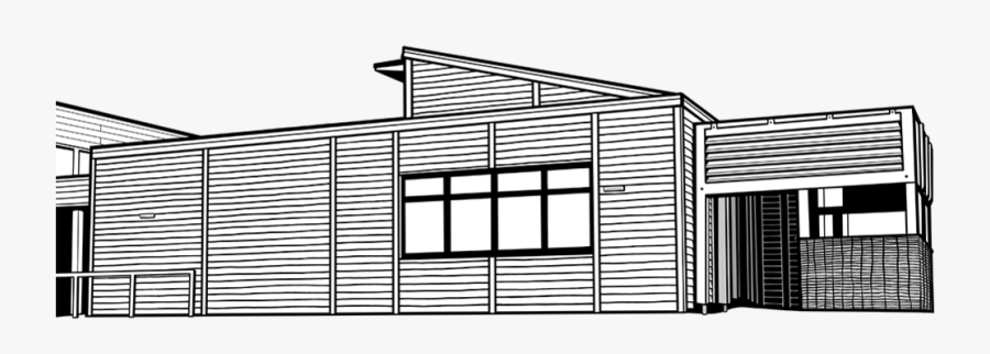 Temporary Classroom Structure For School, Transparent Clipart