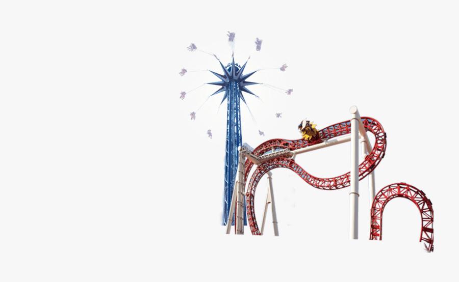 Theme Park Ride Png, Transparent Clipart