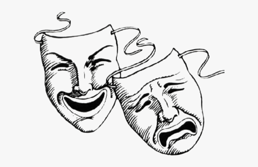Laugh Now Cry Later Masks Tattoo Clipart , Png Download - Good ...