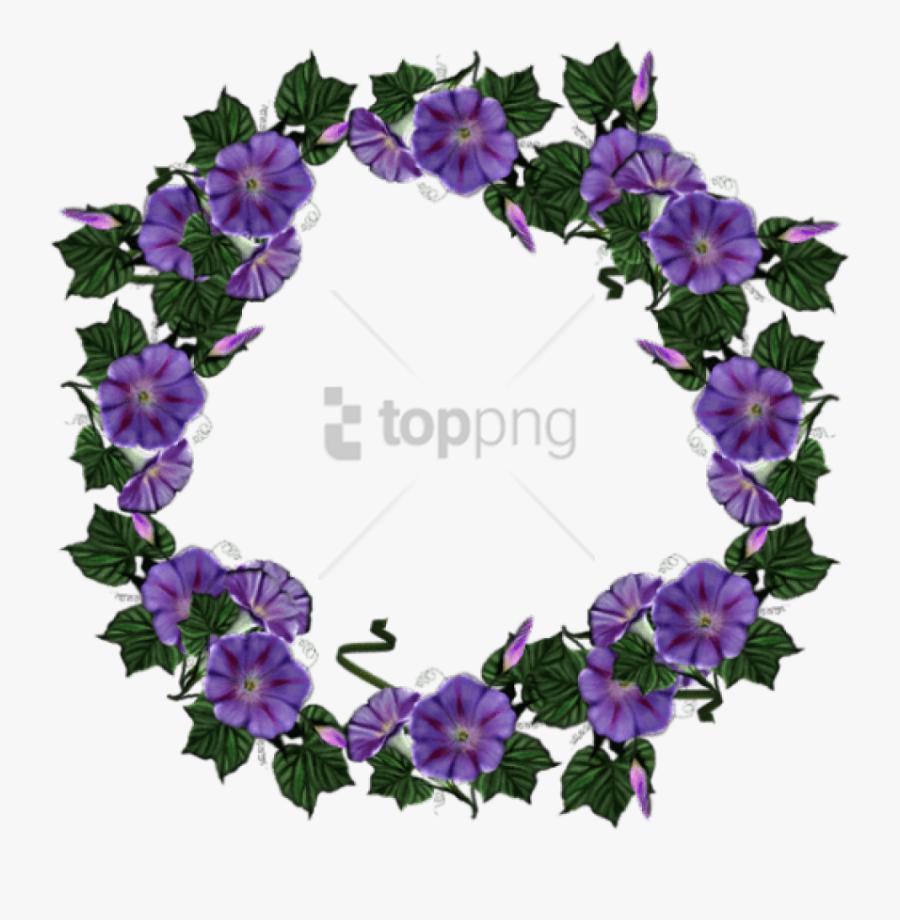 Free Png Purple Flower Crown Transparent Png Image - Have A Beautiful Thursday, Transparent Clipart