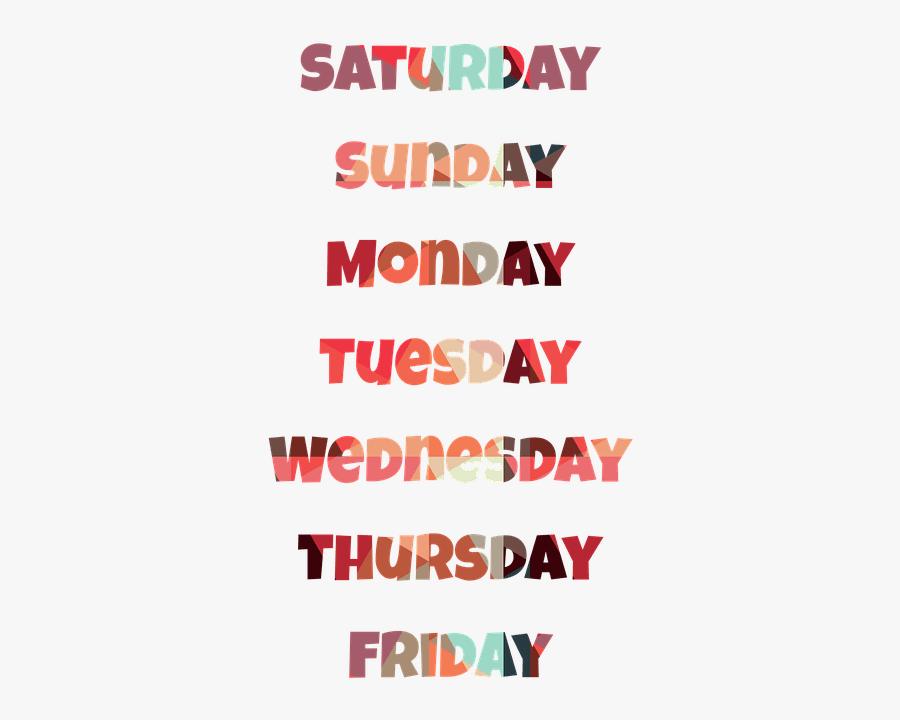 Clip Art How To Pronounce Days - Slogan Good Morning Thursday, Transparent Clipart