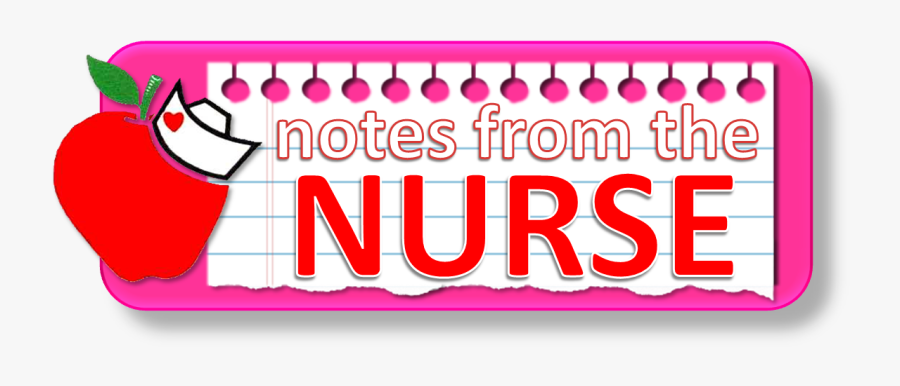Image Result For A Note From The Nurse Clip Art - Notes From The Nurse, Transparent Clipart