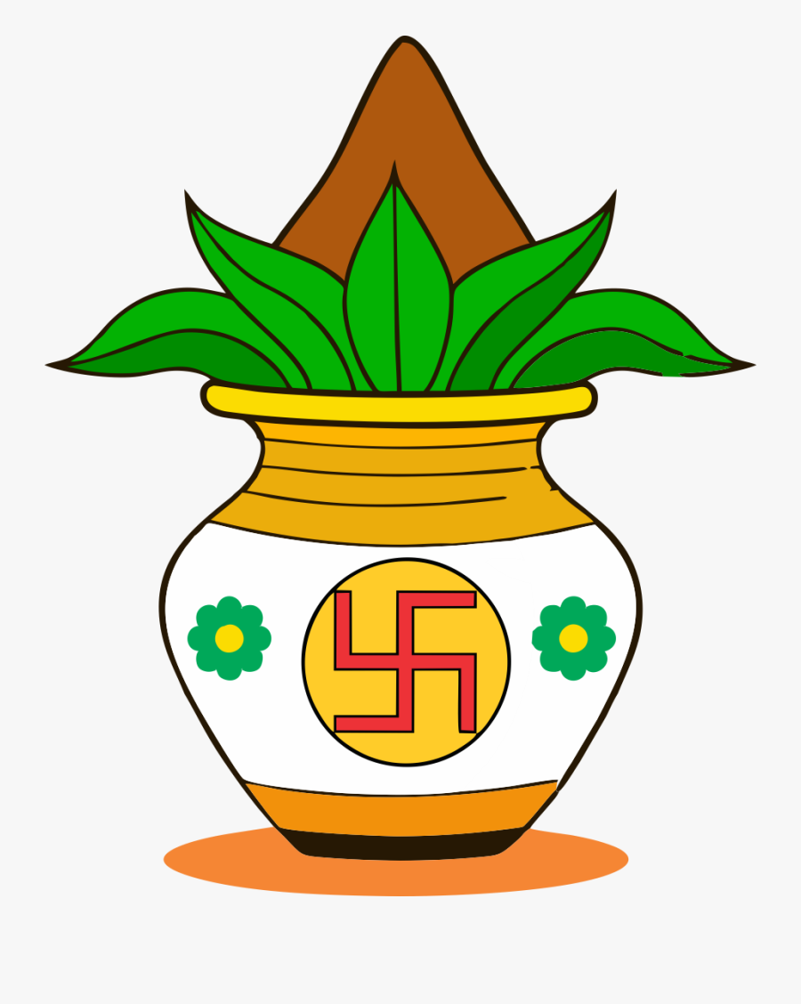 Transparent Clipart Image Chhat Puja New Kalash Png - Indian Wedding Clipart Png, Transparent Clipart