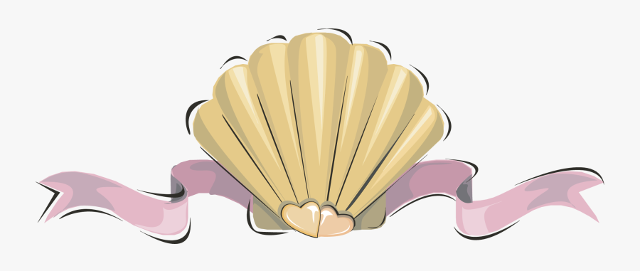 Transparent Shell Clipart Png - Pearl Shell Cartoon Png ...