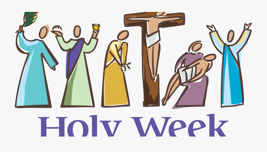 Blessed Holy Week - Holy Week, Transparent Clipart