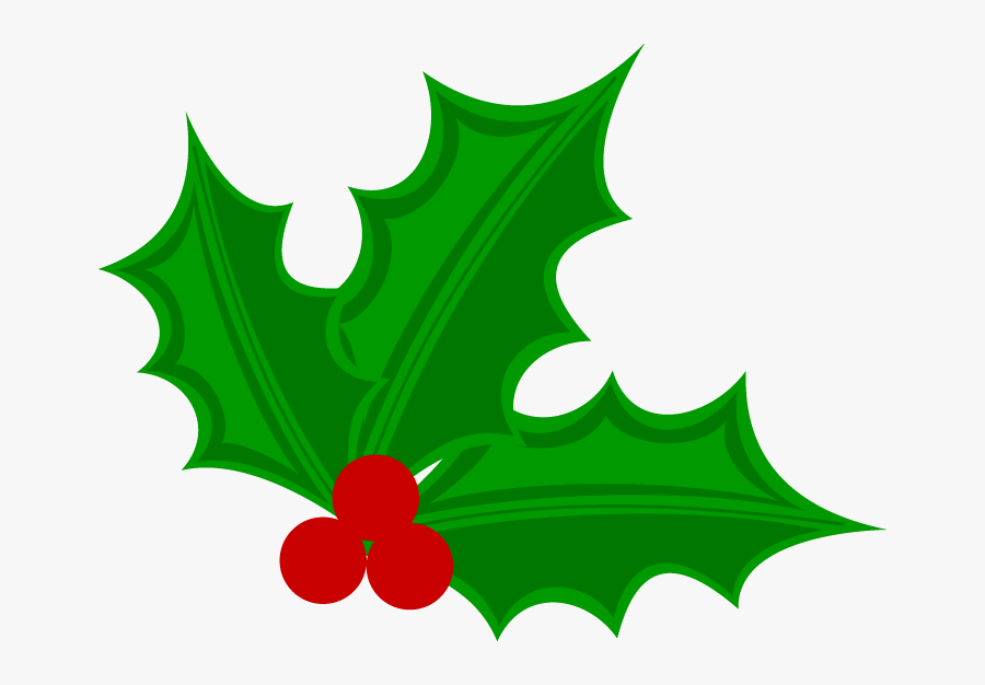 Christmas Clip Art - Christmas Holly Clipart, Transparent Clipart
