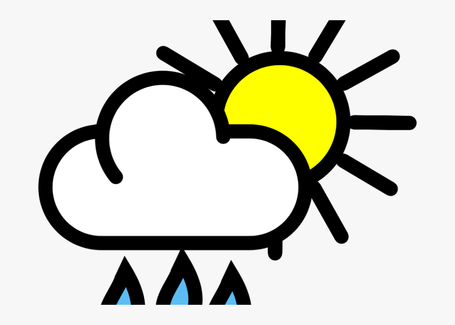 Shower Rain Puddle Free On Dumielauxepices Net - Scattered Showers Clipart, Transparent Clipart