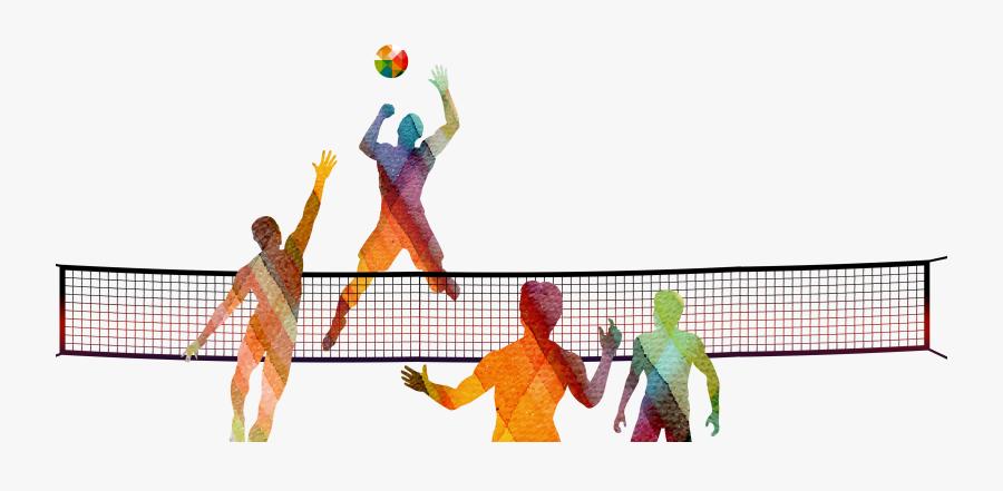 Beach Volleyball Net Png - Liberty Island, Transparent Clipart