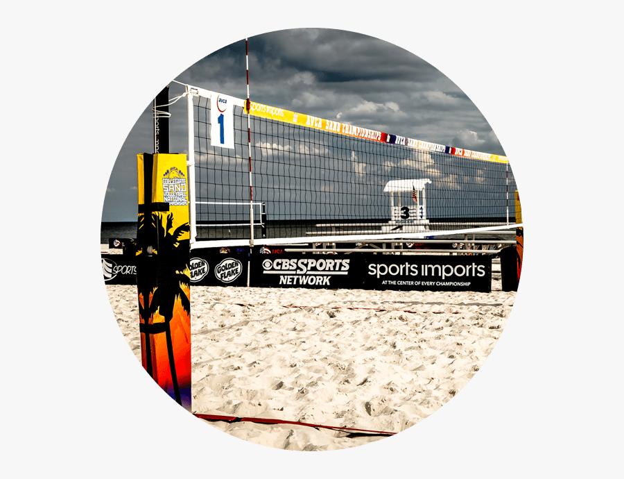 Transparent Volleyball Net Png - Volleyball Network, Transparent Clipart