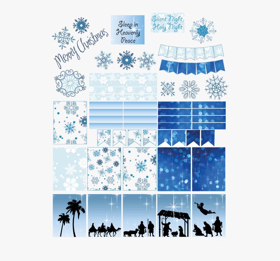 Transparent Sticker Clipart - Christmas Planner Stickers Printables, Transparent Clipart