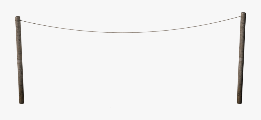 Empty Washing Line - Net, Transparent Clipart