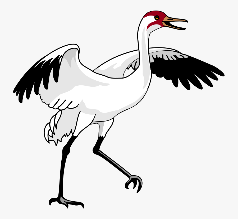 Transparent Sunset - Whooping Crane Clip Art, Transparent Clipart