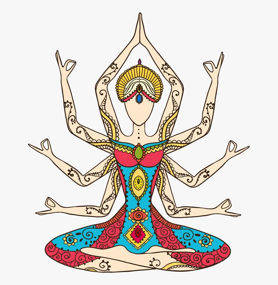 Chakras - Meditation Chakra Art, Transparent Clipart