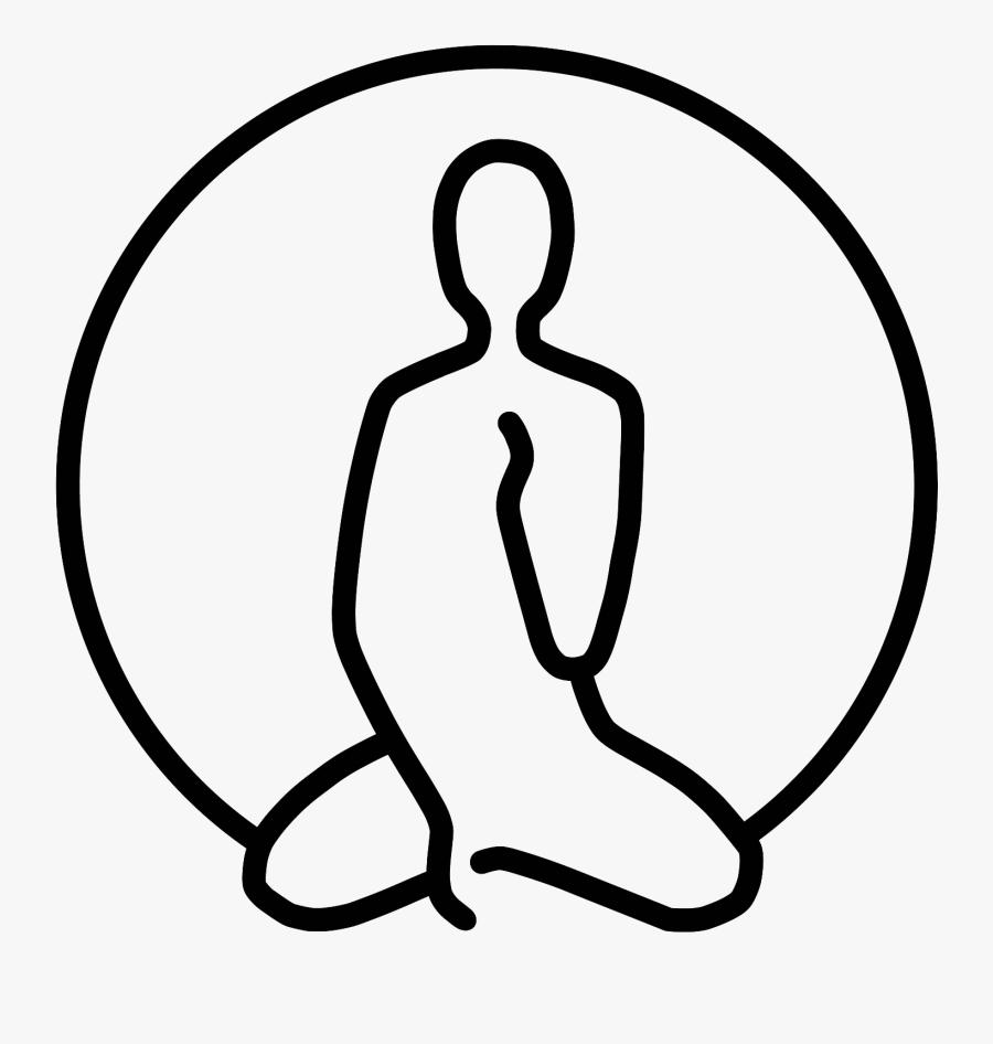 Clip Art Royalty Free Stock Buddah Drawing Beginner - Love Meditation Drawing, Transparent Clipart