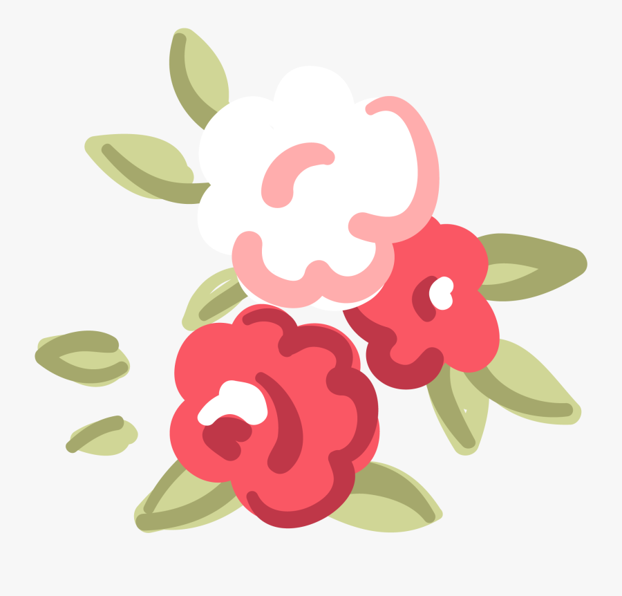 Flower Png Cute - Cute Flower Illustration Png, Transparent Clipart