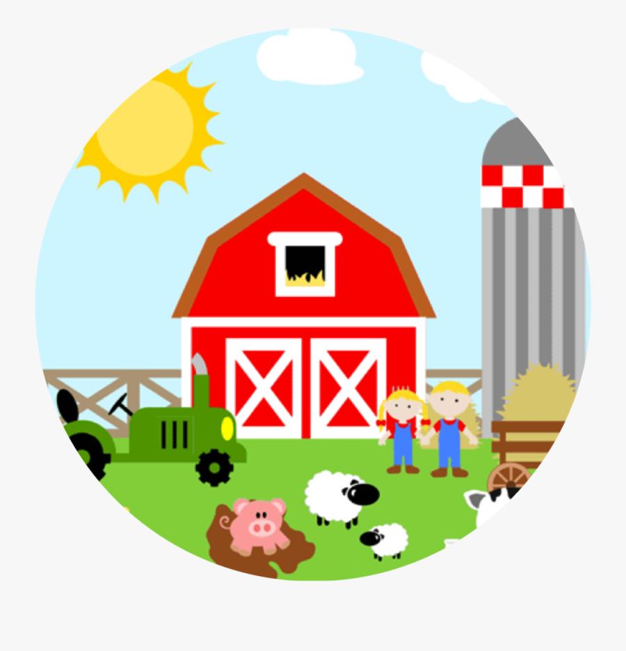 Transparent Farm Clip Art - Clipart Farm And Barn, Transparent Clipart